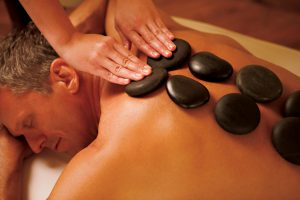 massage aux pierres